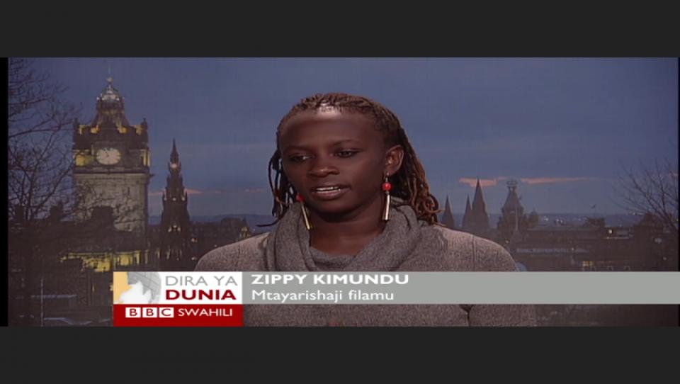 Zippy Kimundu BBC Swahili Interview